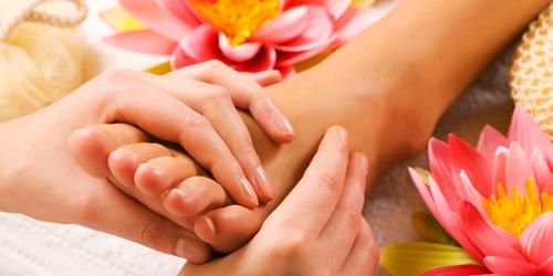 Živi zdravo:  Masaža stopala, totalna relaksacija