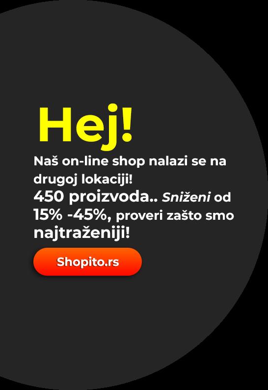 obavestenje shopito